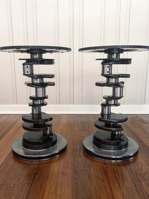 Made to order: V8 Crankshaft End Table