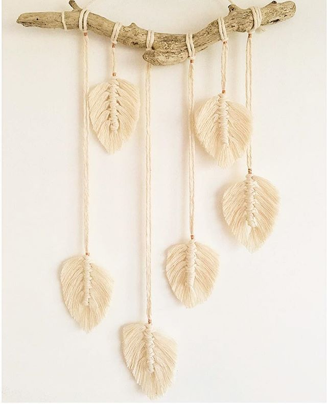 Macrame Feather Wall Hanging Worksho
