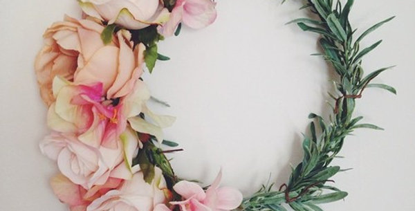 DIY Artifical Flower Crown Kit