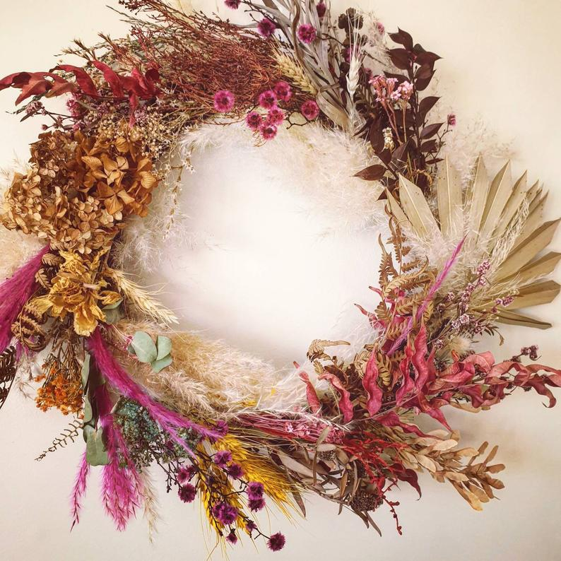 Everlasting Dried Flower Wall Hanging Workshop