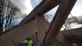 Oak Truss detailing