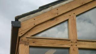 Oak peg detailing