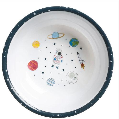 Space Children's Melamine Baby Bowl