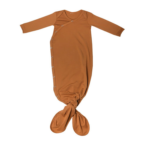 """Knotted Gown """"Camel"""""""
