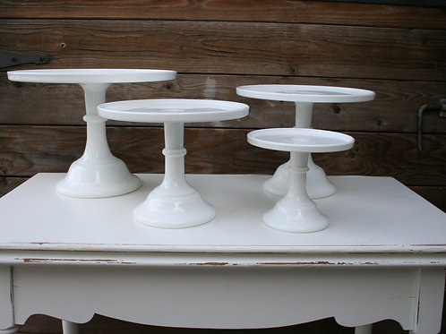 Moser Glass Cakeplates