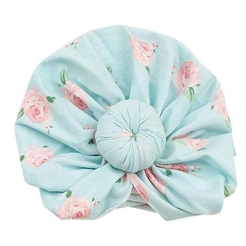 Petite Rose Floral Headwrap