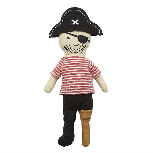 Pirate Doll Rattle