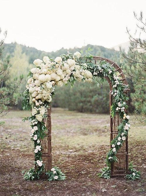 Wooden Twig Arch