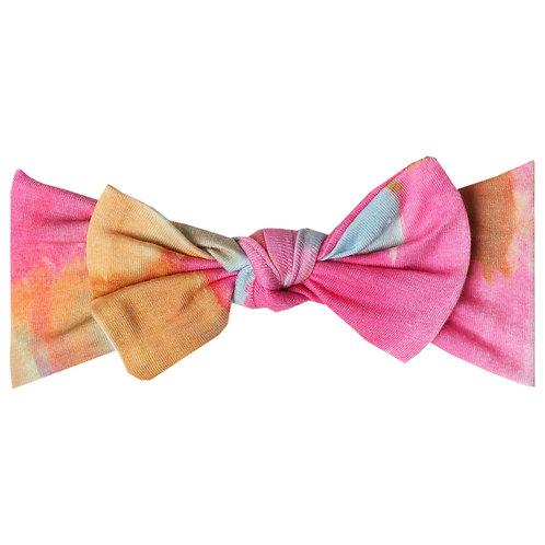 """Knit Headband Bow """"Monet"""""""