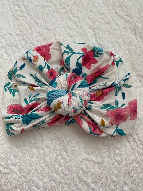 Vintage Floral Headwrap