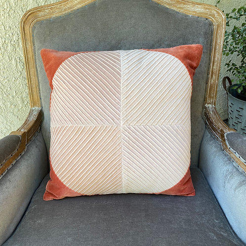 Retro Coral Pillow