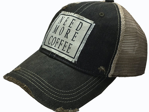 """Need More Coffee"" Hat"