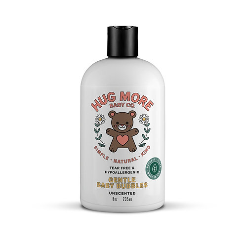 Safe & Gentle Baby Bubbles - Unscented
