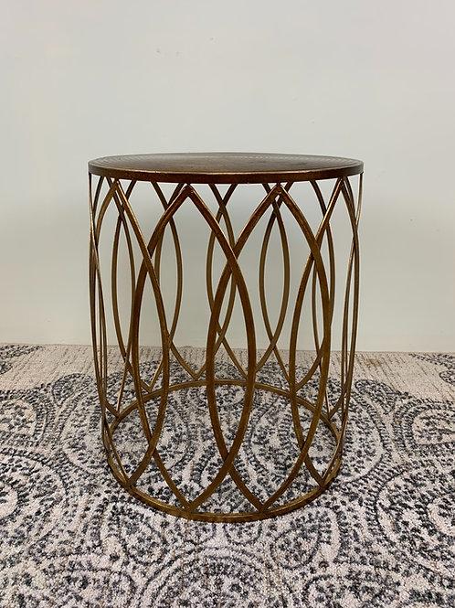Marigold Drum Table