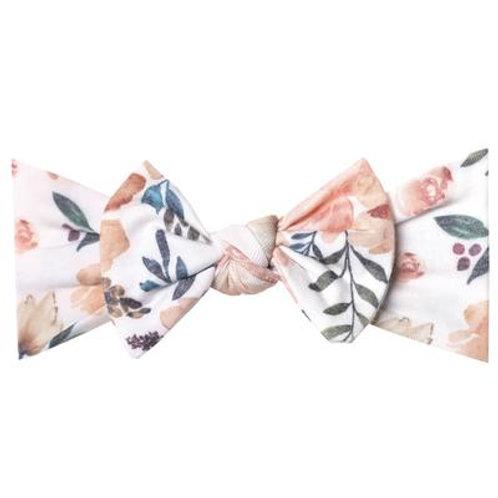 "Knit Headband Bow ""Autumn"""
