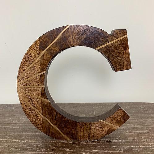 """Wooden """"C"""""""