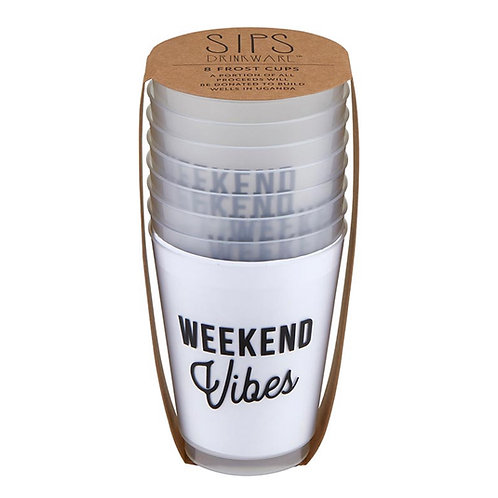 Weekend Vibes Cups