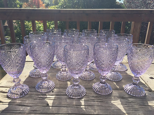 Lilac Goblets
