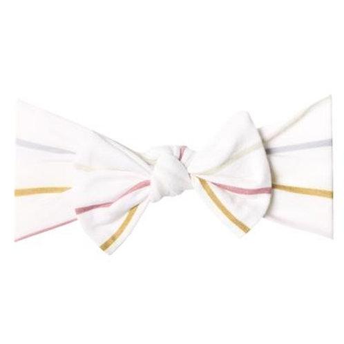 """Knit Headband Bow """"Piper"""""""