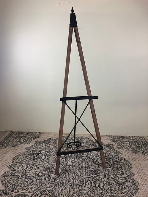 Large Standing Wooden Easel
