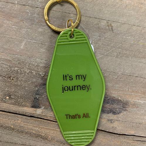 It's My Journey Keychain