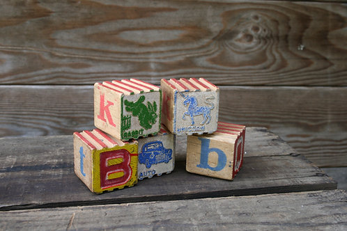 Assorted Wooden Blocks
