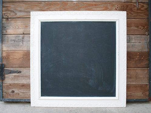 Ornate Square Chalkboard