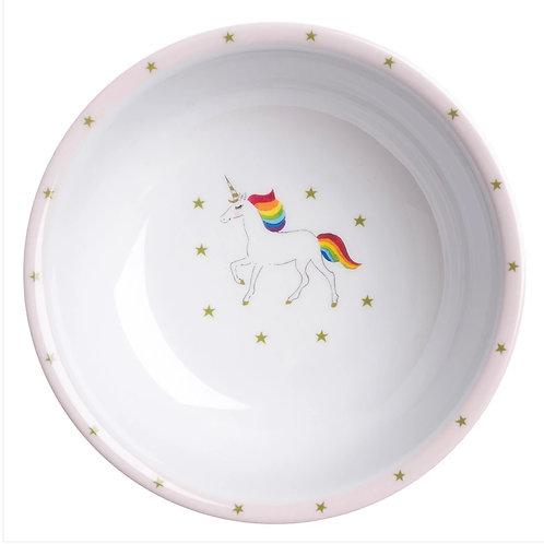 Unicorn Children's Melamine Baby Bowl