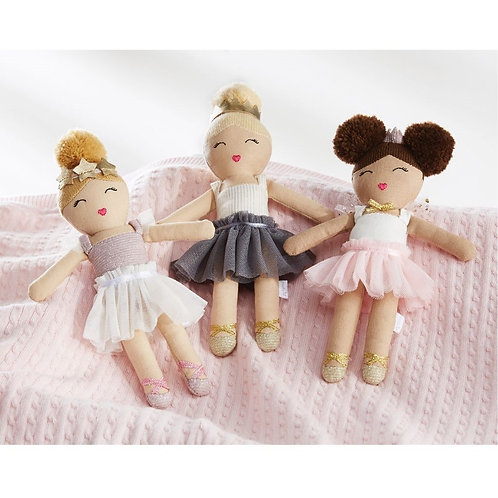 Ballerina Rattle Doll