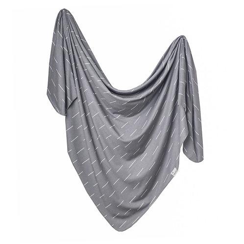 """Knit Swaddle Blanket """"Dash"""""""