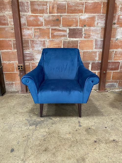 Empire Blue Lounge Chair