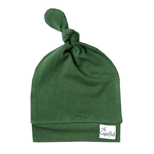 """Newborn Top Knot Hat """"Alder"""""""