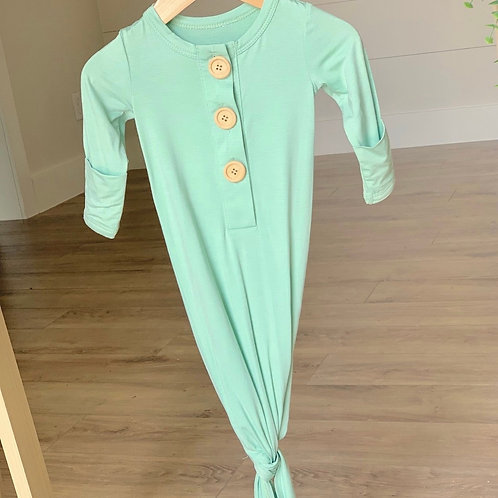 """Kozi & Co Knotted Gown """"Mint"""""""
