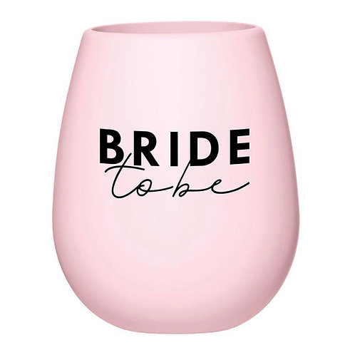 Bride to Be Silicone Cup