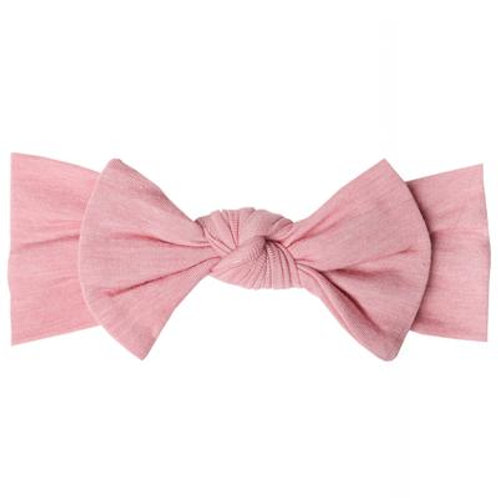 "Knit Headband Bow ""Darling"""