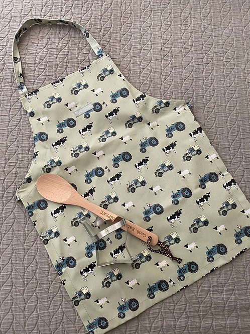 """On Farm Kids"" Kids Apron"