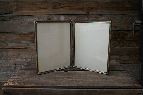 Hinged Gold Picture Frame