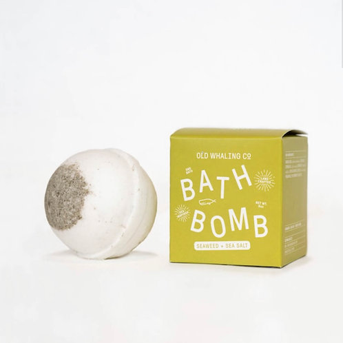 Seaweed & Sea Salt Bath Bomb