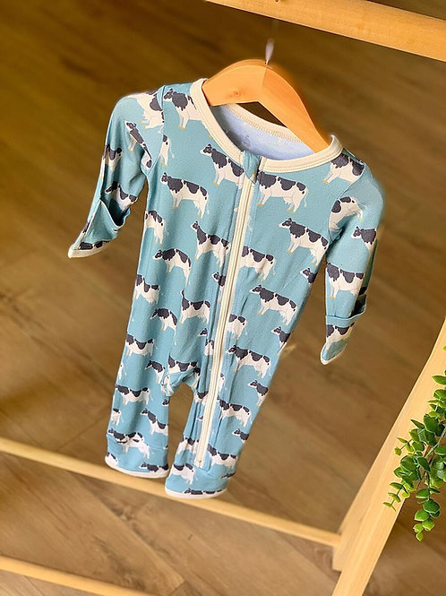 """Kozi & Co Coverall """"Cows"""""""
