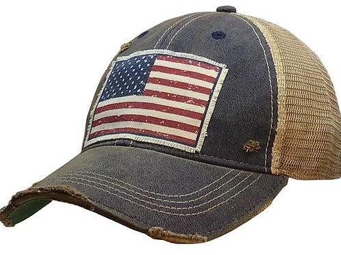 """American Flag USA"" Hat"