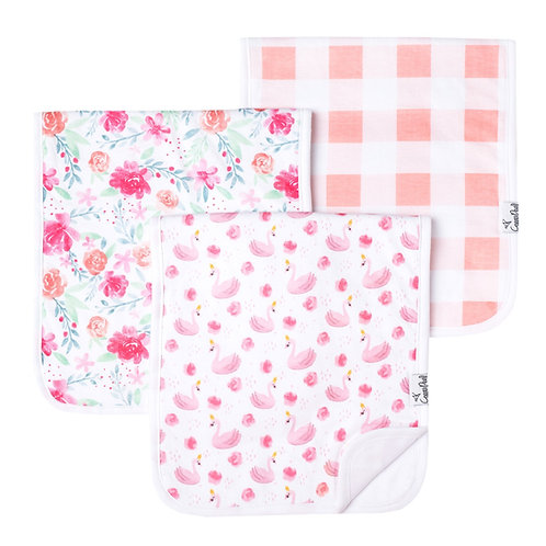 "Premium Burp Cloths ""June"""