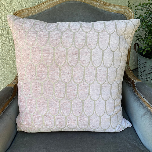 Pink Fish Scale Pillow