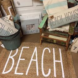 Softest jute rug I have ever felt! #posiesinthevillage #affairoftheheart #beach #beachlife