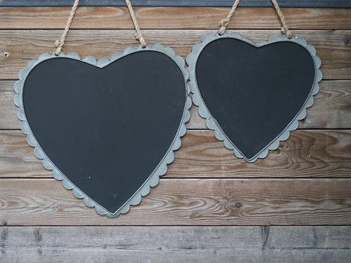 Metal Heart Chalkboards