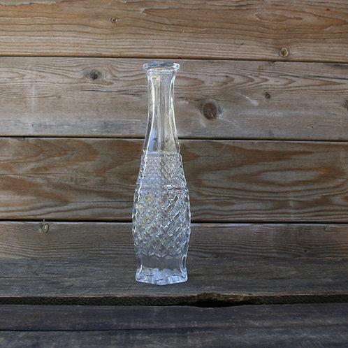 Diamond Glass Bud Vase