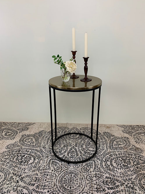 Goldenrod Side Table
