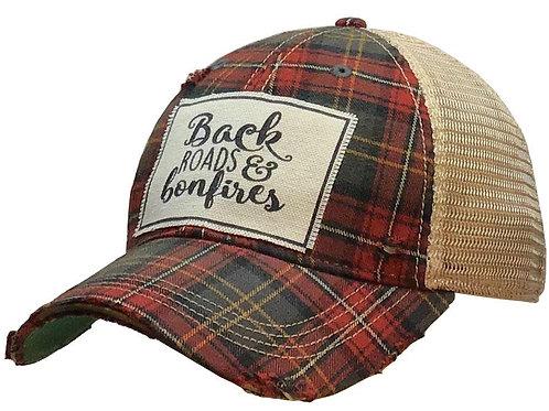 """""""Back Roads & Bonfires"""" Hat"""
