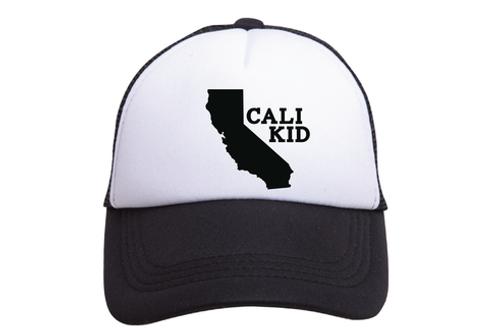 "Cali Kid Trucker hat ""Black & White"""