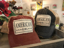 """How cute are these """"American Girl"""" hats_ Grab yourself one today! ._._"""