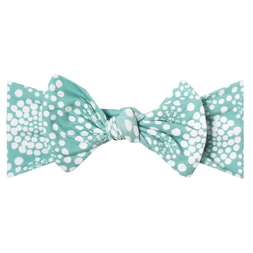 "Knit Headband Bow ""Jane"""